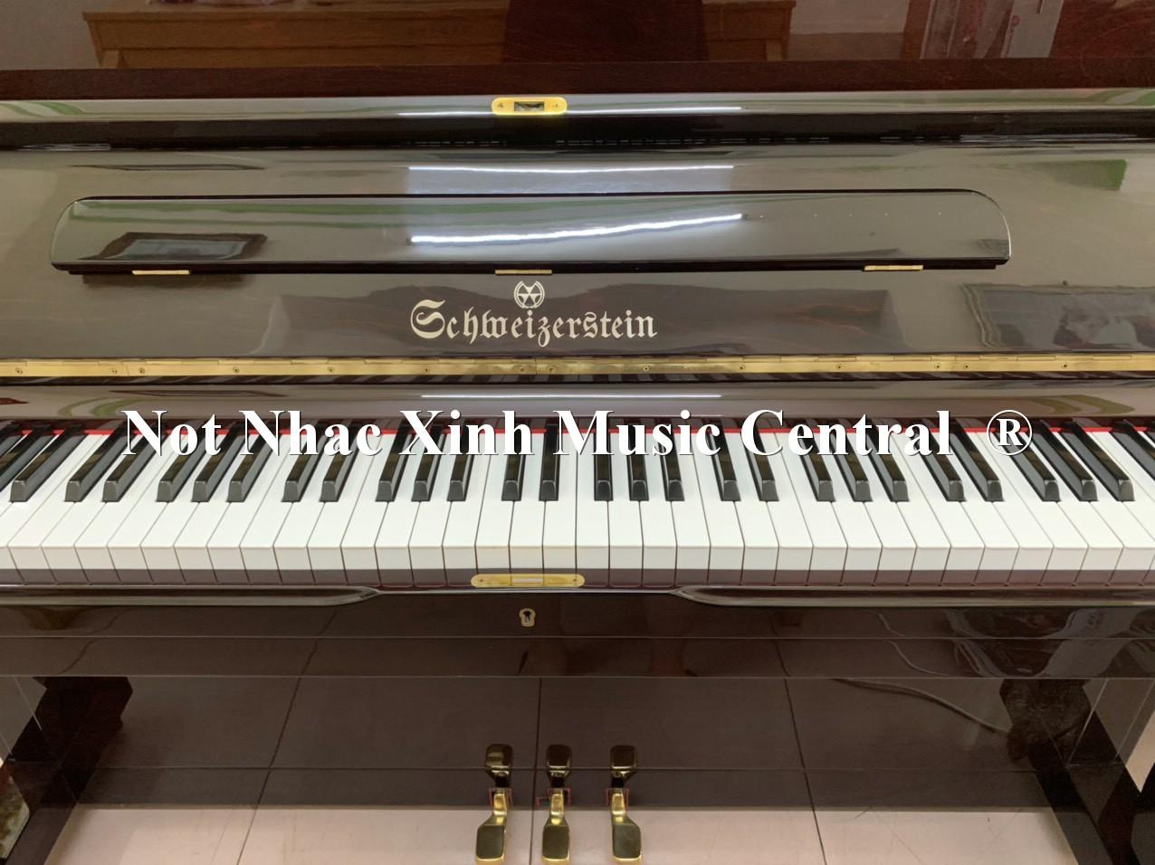Đàn piano cơ Schweizer Stein HU-280
