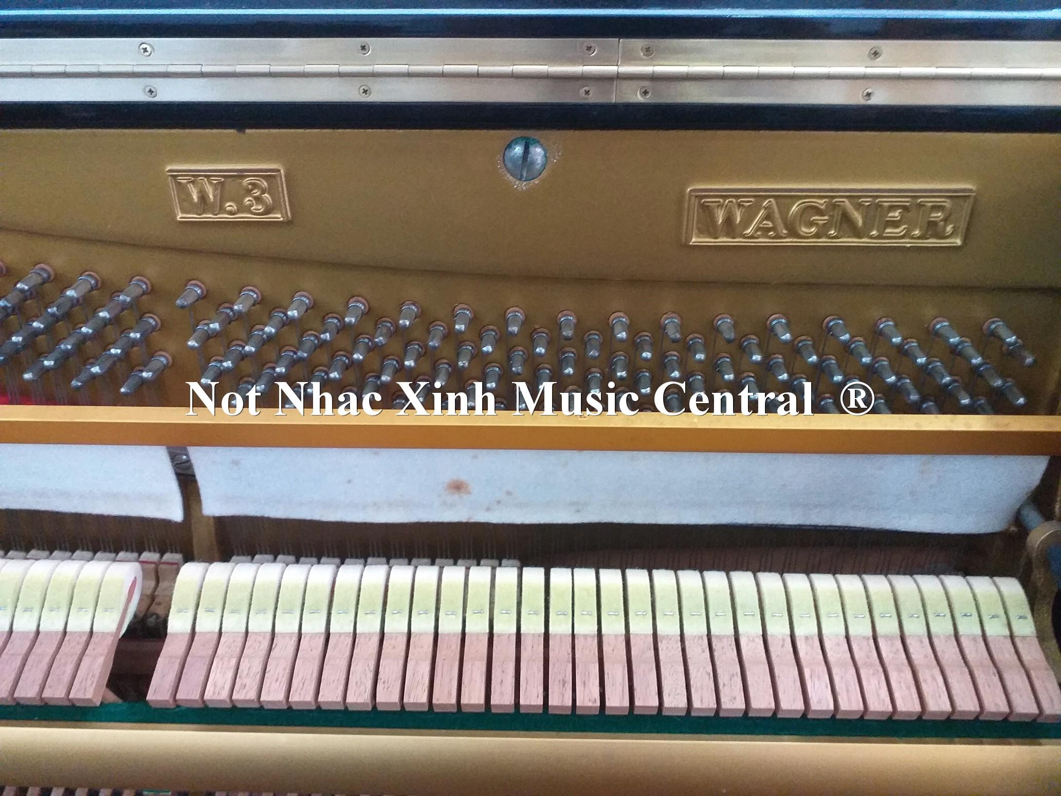 Đàn piano cơ Wagner W-3