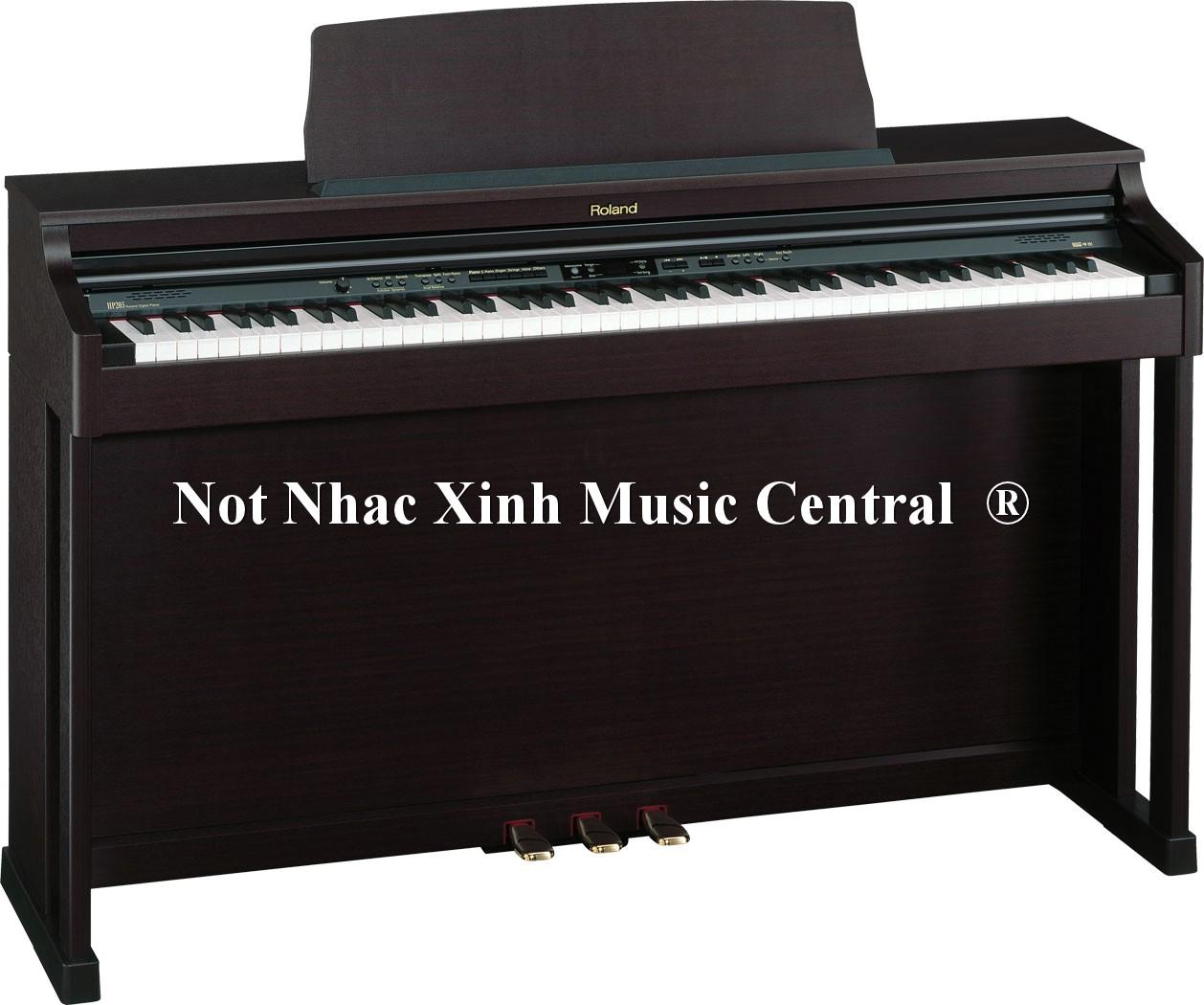 Đàn piano điện Roland HP-203MH