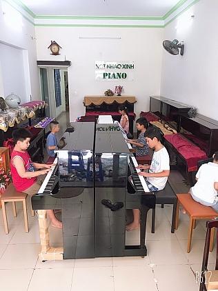 Thường xuyên Chiêu sinh các lớp piano